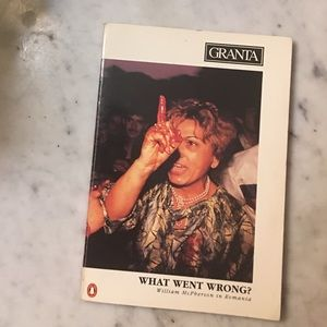 Granta, What Went Wrong, McPherson 1st